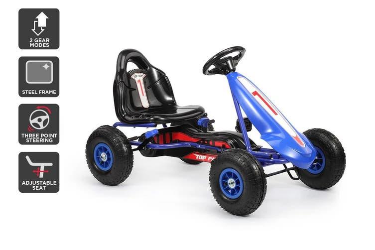 Kids Pedal Go Kart (Blue)