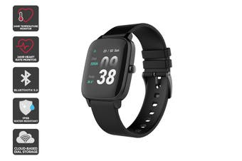 Kogan Pulse + Smart Watch (Black)