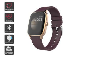 Kogan Pulse+ Smart Watch (Ruby)
