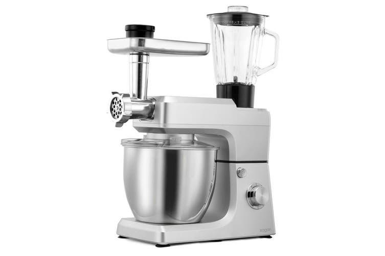 Kogan 1200W Premium Stand Mixer (Silver)