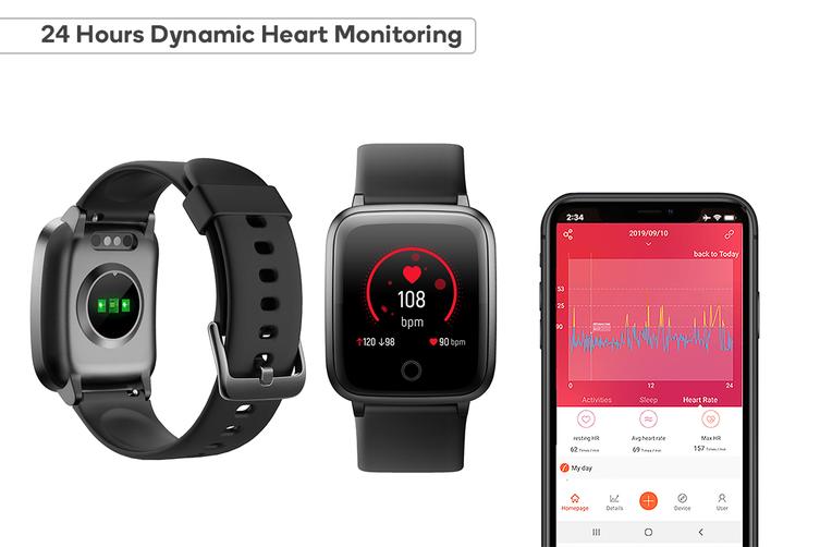Kogan Pulse+ Lite Smart Watch (Classic Black)
