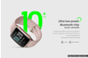 Kogan Pulse+ Lite Smart Watch (Mulberry Gold)