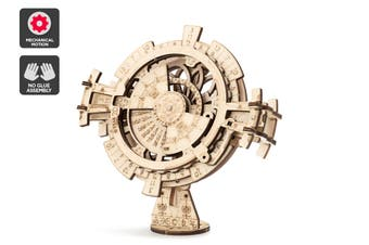 DIY Mechanical Wooden Puzzle (Perpetual Calendar)