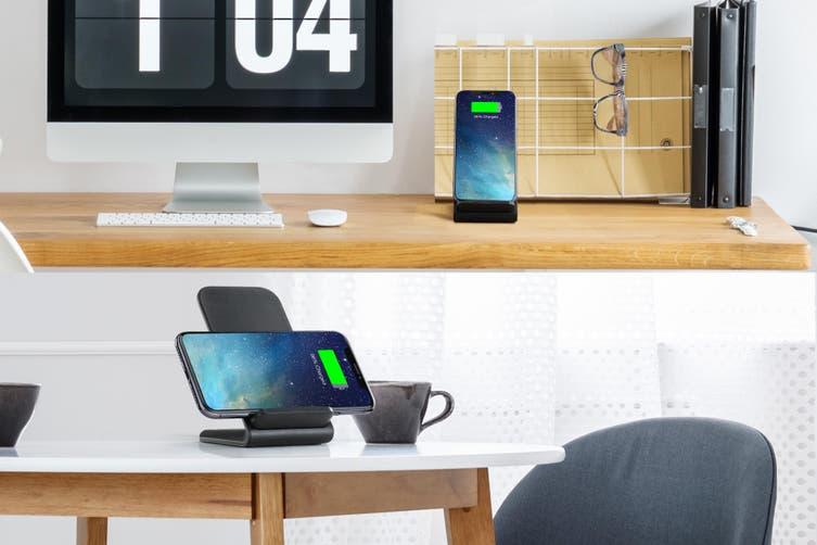 Kogan 10W Qi Wireless Fast Charging Stand (Black)