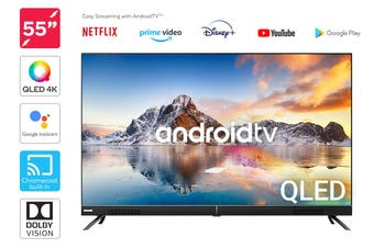 "Kogan QLED 55"" 4K UHD HDR Smart TV Android TV™ (Signature Series, XT9510)"