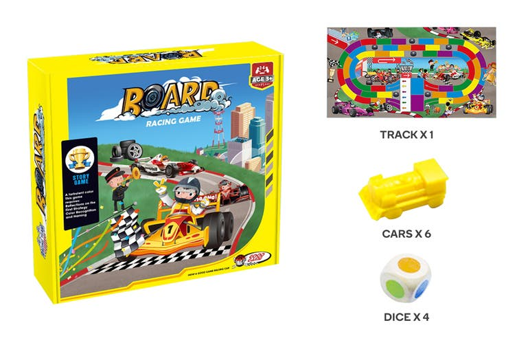 Racing Car Board Game