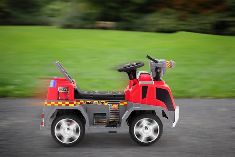 Kids Ride-On Fire Engine