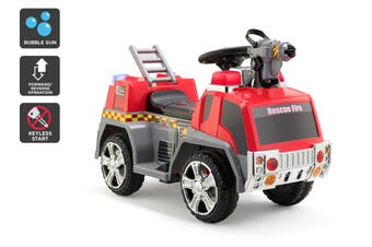 Kids Ride-On Fire Engine