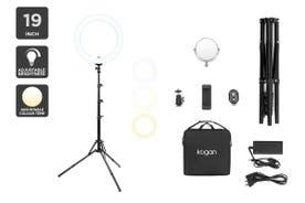 """Kogan 19"""" LED Ring Light"""