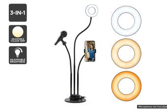 Kogan 3-in-1 LED Ring Light
