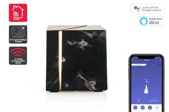 Kogan SmarterHome™ 200mL Smart Aroma Diffuser (Black Marble)