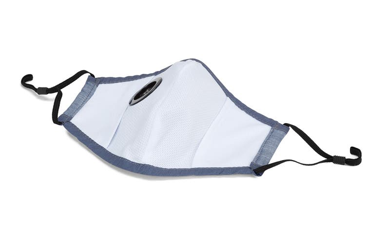 Chambray Washable & Reusable PM2.5 Face Mask With Respirator (1 Mask + 4 Filters)