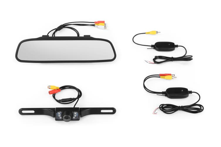 "Kogan Wireless 4.3"" Rear View Reverse Parking Camera"