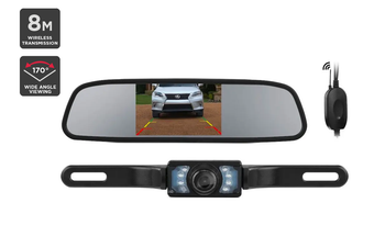 "Kogan Wireless 4.3"" Rear View Reverse Parking Camera"