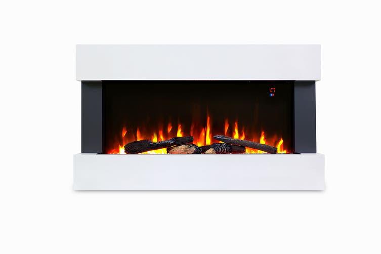 Kogan SmarterHome™ 2000W Multi-Colour Flame Effect Heater