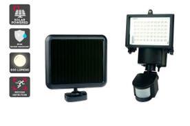 Solar Powered Motion Sensor LED Flood Light (60 LED, 600 Lumens)