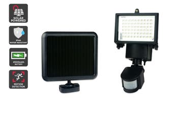 Solar Powered Motion Sensor LED Flood Light (4500 mAh, 60 LED)
