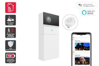 Kogan SmarterHome™ Smart Doorbell 2 Pro (White)