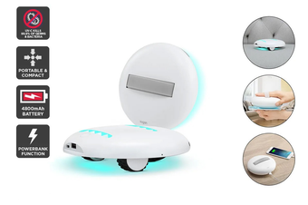 Kogan Portable UV Sanitiser Robot and Power Bank
