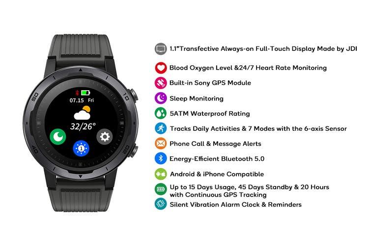 Kogan Active+ Pro GPS Always-On Display Smart Watch