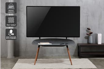 "Kogan Selvik Studio Stand with Shelf for 50""-70"" TVs"