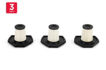 Kogan 2-in-1 Cordless 29.6V Stick Vacuum Filter (3 Pack)