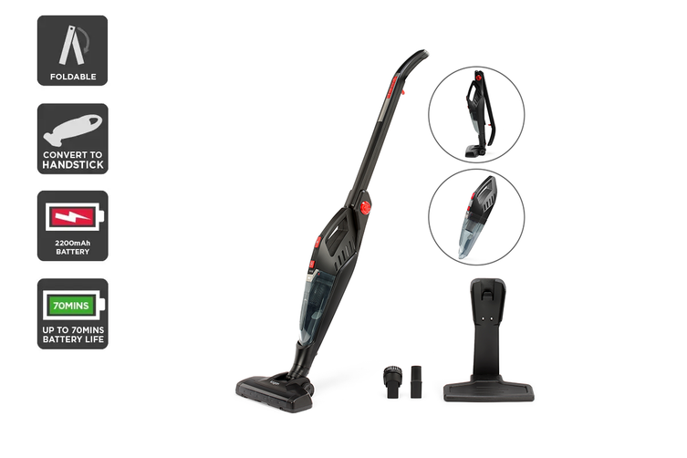 Kogan 2-in-1 Cordless 29.6V Stick Vacuum Cleaner
