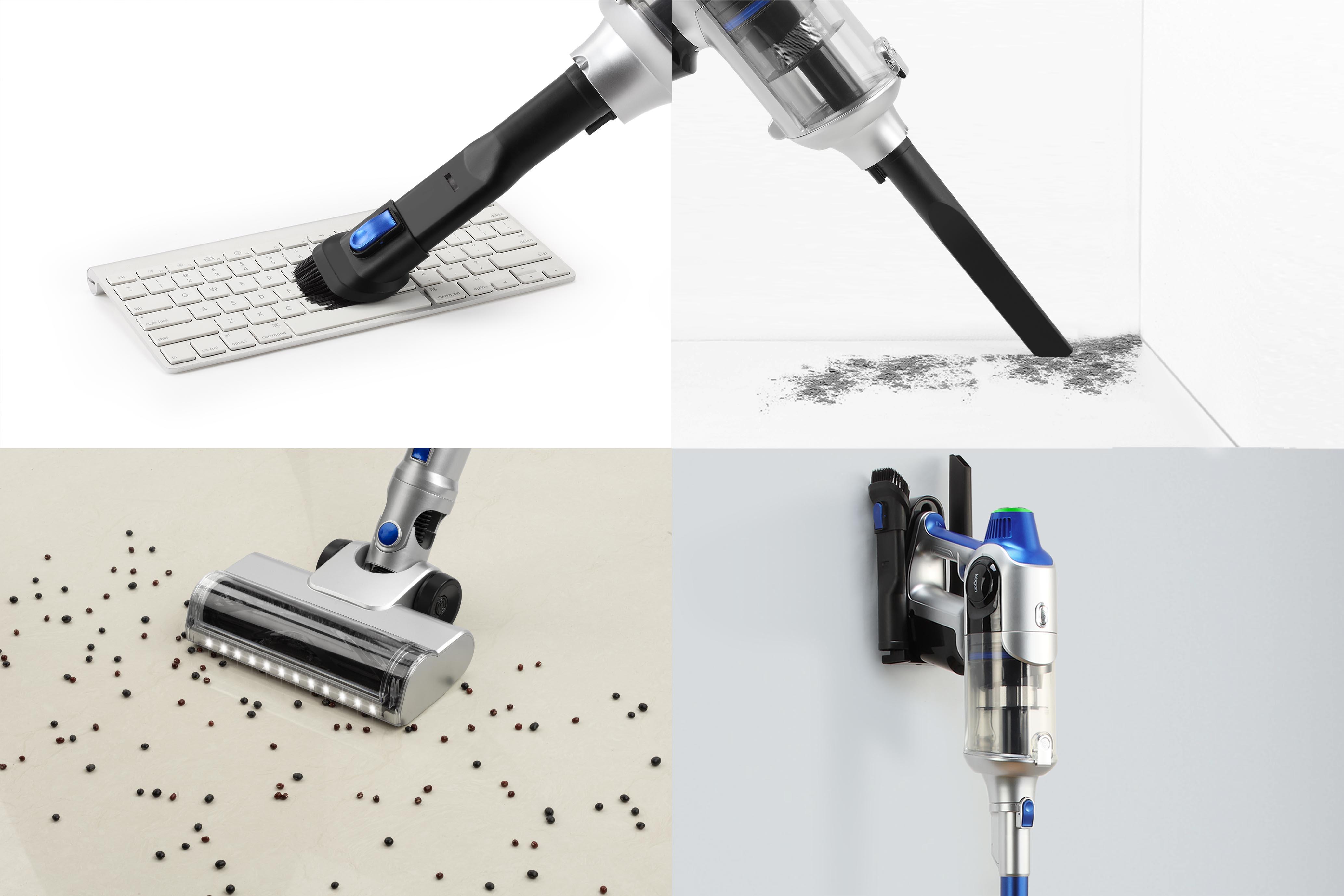 Multipurpose vacuuming