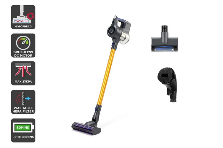 Kogan T10 Pro Cordless 29.6V Stick Vacuum Cleaner Pet Combo