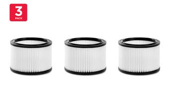 Kogan Premium 30L Wet & Dry Vacuum Filter (3 Pack)