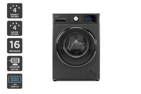 Kogan 8kg Series 9 Front Load Inverter Washing Machine (Dark Graphite)