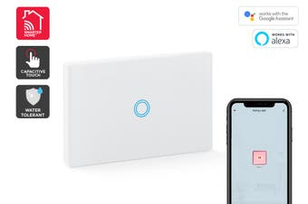 Kogan SmarterHome™ Smart Touch Light 1 Switch Gang