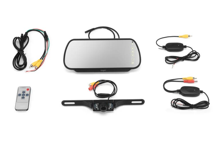 "Kogan 7"" Wireless Rear View Reverse Camera"