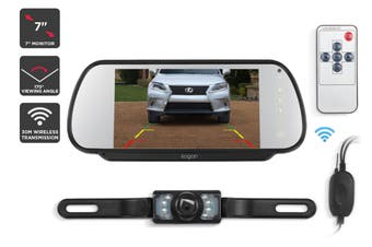 "Kogan 7"" Wireless Rear View Reverse Camera"