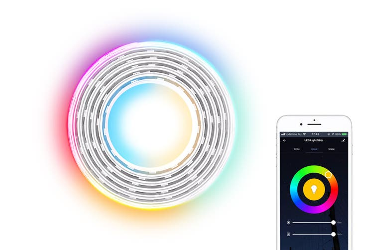 Kogan SmarterHome™ RGB + Cool & Warm White Smart LED Light Strip (2m)