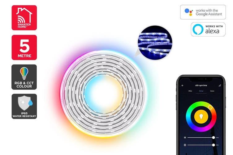 Kogan SmarterHome™ RGB + Cool & Warm White Smart LED Light Strip (5m)