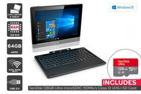 "Kogan Atlas 10.1"" 2-in-1 D500 Touchscreen Laptop + 128GB Micro SD Card Bundle"