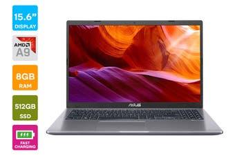 "ASUS 15.6"" AMD A9-9425 8GB RAM 512GB SSD Radeon R5 W10 Laptop (D509BA-BR044T)"