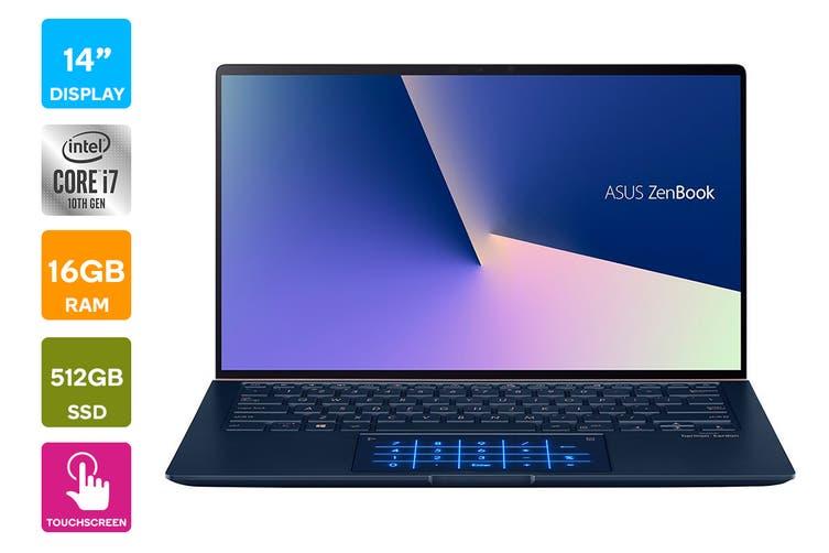 """ASUS 14"""" Core i7-10510U 16GB RAM 512GB SSD W10Pro Laptop (UX433FAC-AI258R)"""
