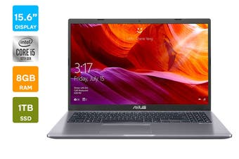 "ASUS 15.6"" X509 Core i5-1035G1 8GB RAM 1TB HDD Win10 Laptop (X509JA-BR072T)"