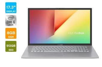 """ASUS 17.3"""" X712 Core i5-10210U 8GB RAM 512GB SSD Win10 Pro Laptop (X712FA-AU606R)"""