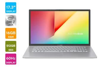 """ASUS 17.3"""" X712 Core i7-10510U 16GB RAM 1TB HDD + 512GB SSD Win10 Laptop (X712FA-AU643T)"""