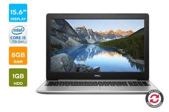 "Dell Inspiron 5570 15.6"" FHD Windows 10 Pro Laptop (i5-7200U, 8GB RAM, 1TB, Silver) - Certified Refurbished"