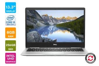 "Dell Inspiron 13 7380 13.3"" FHD Windows 10 Laptop (i5-8265U, 8GB RAM, 256GB, Silver) - Certified Refurbished"