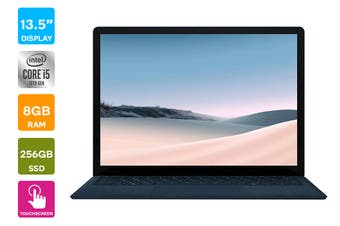 "Microsoft Surface Laptop 3 13.5"" (256GB, i5, 8GB RAM, Cobalt Blue) - AU/NZ Model"