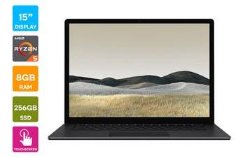 "Microsoft Surface Laptop 3 15"" (256GB, Ryzen 5, 8GB RAM, Black) - AU/NZ Model"