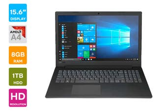 "Lenovo V145 15.6"" AMD A4-9125 8GB RAM 1TB HDD Win10 Home Notebook (81MT004RAU)"
