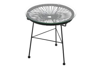 Matt Blatt Acapulco Outdoor Furniture Table Replica (Black)
