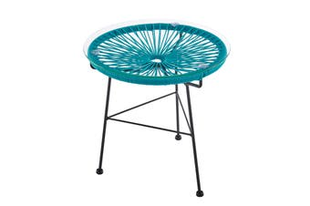 Matt Blatt Acapulco Outdoor Furniture Table Replica (Blue)