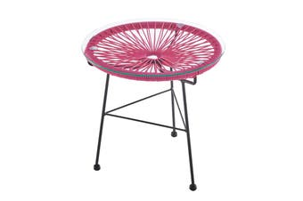 Matt Blatt Acapulco Outdoor Furniture Table Replica (Pink)
